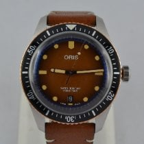 Oris 01 733 7707 4356-07 5 20 45 Steel Divers Sixty Five 40mm pre-owned