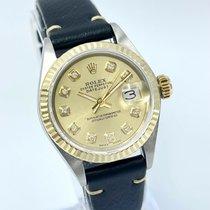 Rolex Lady-Datejust 6917 Très bon Or/Acier 26mm Remontage automatique