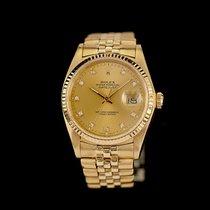 Rolex Datejust 16018 Befriedigend Gelbgold 36mm Automatik Deutschland, Rosenheim