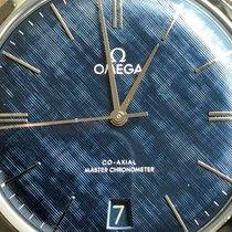 Omega De Ville Trésor Acier 40mm Bleu Sans chiffres