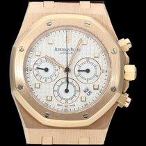 Audemars Piguet Royal Oak Chronograph Or rose 39mm Champagne Sans chiffres