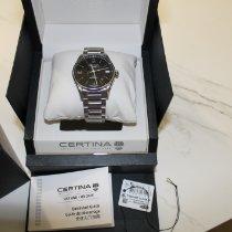 Certina DS-1 Сталь Черный