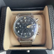 IWC Pilot Spitfire Chronograph new 2021 Automatic Chronograph Watch with original box and original papers IW387901