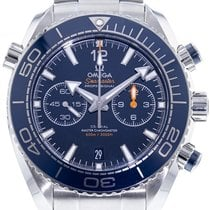 Omega Seamaster Planet Ocean Chronograph new 2021 Automatic Chronograph Watch with original box and original papers 215.30.46.51.03.001