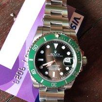Rolex Submariner Date Steel 40mm Green No numerals United Kingdom, Ayr