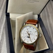 Maurice Lacroix Masterpiece Phases de Lune Steel 38mm White No numerals United States of America, New York, New York