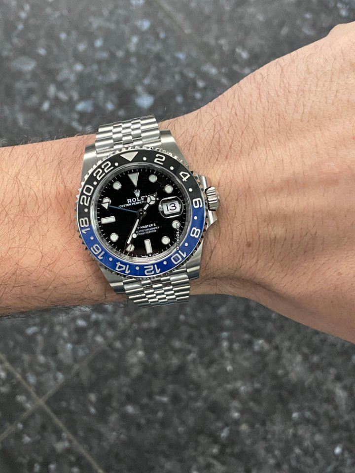 Rolex GMT-Master II 126710BLNR 2021 new
