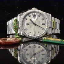 Rolex Day-Date 36 Platino 36mm Plata