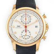 IWC Portuguese Yacht Club Chronograph Rose gold 43.5mm Silver Arabic numerals United States of America, Florida, Hollywood