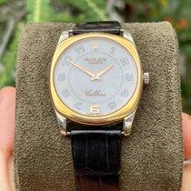 Rolex Oro blanco Cuerda manual 34mm usados Cellini Danaos