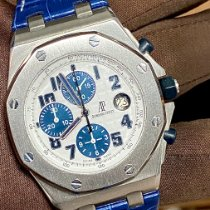 Audemars Piguet Royal Oak Offshore Chronograph Acier 42mm Blanc Arabes Belgique, Antwerpen