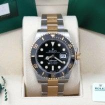 Rolex Submariner Date Gold/Steel 41mm Black No numerals United States of America, California, Los Angeles