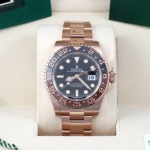 Rolex GMT-Master II Rose gold 40mm Black No numerals United States of America, California, Los Angeles