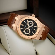 Audemars Piguet Royal Oak Day-Date Rose gold 39mm Black No numerals United States of America, New York, New York