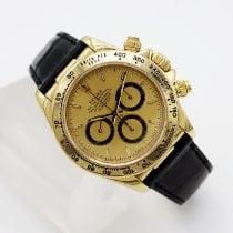 Rolex Daytona Yellow gold 40mm Gold Arabic numerals United States of America, California, Santa Monica