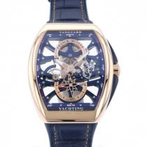 Franck Muller Rose gold 41mm Manual winding V41 S6 SQT ANCRE YACHTING (5N BL) new