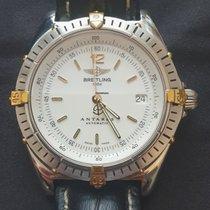 Breitling Antares Gold/Stahl 39mm Weiß