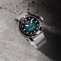 Tissot Seastar 1000 Сталь 43mm Зеленый Без цифр