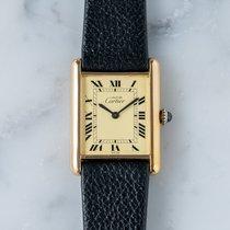 Cartier (カルティエ) タンク ヴェルメイユ 6 良い シルバー 23mm 手巻き 日本, Tokyo