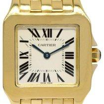 Cartier Santos Demoiselle Yellow gold 26mm Silver Roman numerals United States of America, Florida, Boca Raton