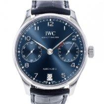 IWC Portuguese Automatic occasion 42.3mm Date Cuir