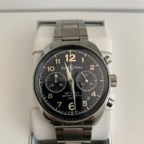 Bell & Ross Vintage occasion 41mm Champagne Chronographe Cuir
