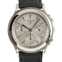Longines Flagship Steel 39mm Silver