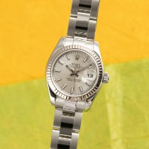 Rolex Lady-Datejust Gold/Steel 26mm Silver