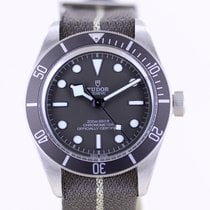 Tudor Silver Automatic No numerals 39mm new Black Bay Fifty-Eight