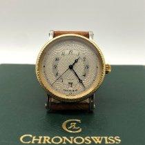 Chronoswiss Kairos Gold/Steel 38mm Champagne Arabic numerals