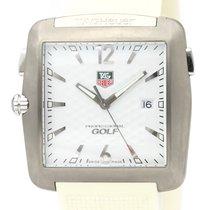 TAG Heuer Professional Golf Watch Acero 36mm Blanco