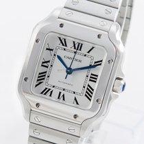 Cartier Santos (submodel) neu 2021 Automatik Uhr mit Original-Box und Original-Papieren WSSA0029