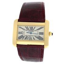 Cartier Tank Divan new Quartz Watch with original box and original papers 2602