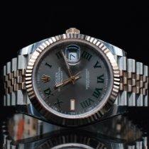 Rolex Datejust II Gold/Stahl 41mm Grau Keine Ziffern Deutschland, Hamburg