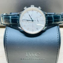 IWC Portuguese Chronograph Steel White Arabic numerals United States of America, Florida, West Palm Beach