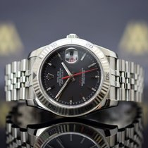 Rolex Datejust Turn-O-Graph Aço 36mm Preto