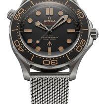 Omega Seamaster Diver 300 M neu 2020 Automatik Uhr mit Original-Box und Original-Papieren 210.90.42.20.01.001