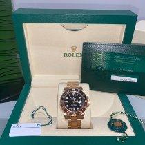 Rolex 126715CHNR-0001 Oro rosa 2021 GMT-Master II 40mm usato
