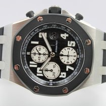 Audemars Piguet Royal Oak Offshore Chronograph Acier 42mm Noir Arabes