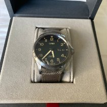 Oris Big Crown ProPilot Day Date Acier 45mm Noir Arabes