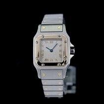 Cartier Gold/Stahl 24mm Quarz 1567 gebraucht Deutschland, Rosenheim