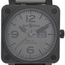 Bell & Ross BR 01-96 Grande Date Steel 46mm Black Arabic numerals