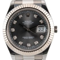 Rolex Datejust II White gold 41mm Grey No numerals United Kingdom, London