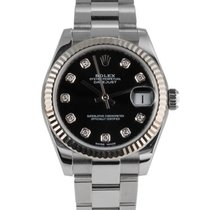 Rolex Lady-Datejust Сталь 31mm Синий