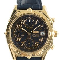 Breitling Chronomat Geelgoud 39mm Zwart