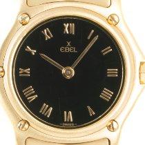 Ebel Classic Желтое золото 25mm Черный