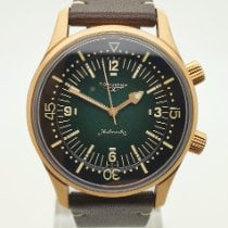 Longines Bronze Automatic Green Arabic numerals 42mm new Legend Diver