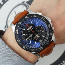 Breitling Skyracer Steel 44mm Black United States of America, New York, NYC