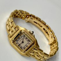 Cartier Panthère Yellow gold 22mm White Roman numerals United States of America, New York, New York