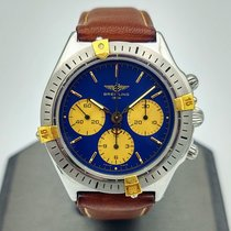Breitling Callisto Gold/Steel 36mm Blue No numerals United States of America, Illinois, Roscoe